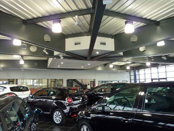Atelier de vente automobile mably 42 a2dh architectesa2dh architectes - Cession garage automobile ...